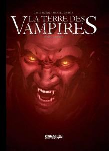 CANAL BD toilés - Terre des Vampires T1