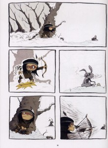 EDITIONS DE LA GOUTTIERE - Anuki T3 planche