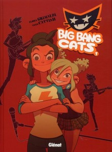 GLENAT big bang cat