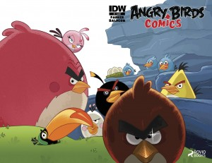 angry birds comics 1