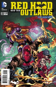 red hood and outlaws 33