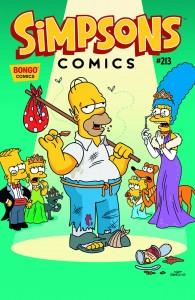 simpson comics 213