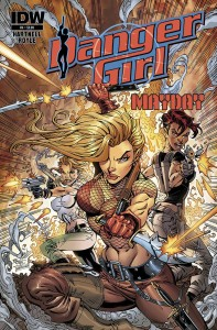 danger girl mayday 4