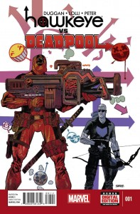 hawkeye vs deadpool 1