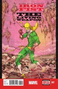 iron fist living weapon