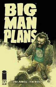 BIG MAN PLANS #2 (OF 4) CVR A POWELL (MR)
