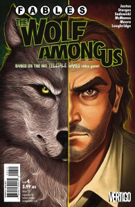 FABLES THE WOLF AMONG US #4 (MR)