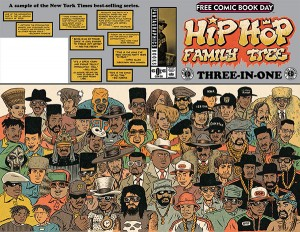 FCBD 2015 HIP HOP FAMILY TREE 3-IN-1 FEATURING COSPLAYERS (MR)