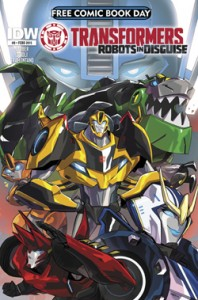 FCBD 2015 TRANSFORMERS ROBOTS IN DISGUISE #0