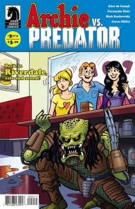 ARCHIE VS PREDATOR #2 (OF 4) PARENT MAIN CVRjpg