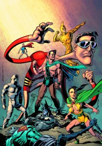 CONVERGENCE PLASTIC MAN FREEDOM FIGHTERS #2
