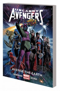 UNCANNY AVENGERS TP VOL 04 AVENGE EARTH