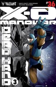 X-O MANOWAR #36 CVR A OVERLAY SANDOVAL