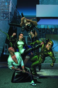 convergence green arrow 2
