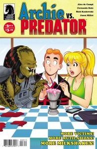 ARCHIE VS PREDATOR #3 (OF 4) MAIN CVR