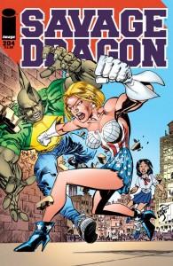 SAVAGE DRAGON #204
