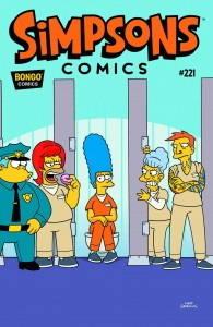 SIMPSONS COMICS #221 #221