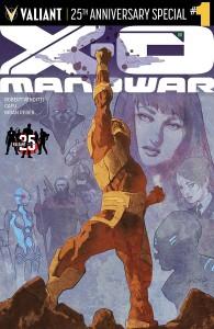 X-O MANOWAR 25TH ANN SPECIAL #1
