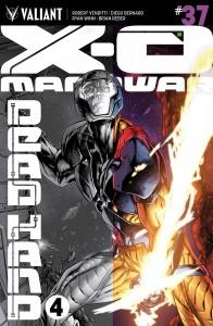 X-O MANOWAR #37 CVR A OVERLAY SEGOVIA