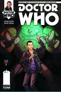 DOCTOR WHO THE NINTH DOCTOR #3 #3 (OF 5) REG SHEDD
