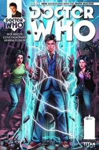 DOCTOR WHO THE TENTH DOCTOR #13 #13 REG LACLAUSTRA
