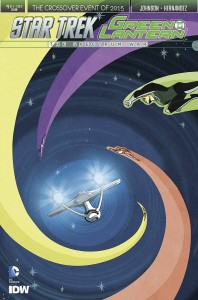 STAR TREK GREEN LANTERN #1