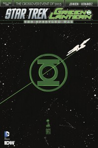 STAR TREK GREEN LANTERN #1 (OF 6) REG FRANCAVILLA