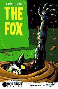 THE FOX #4 #4 HASPIEL REG CVR (MR)