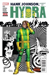 HANK JOHNSON AGENT OF HYDRA #1