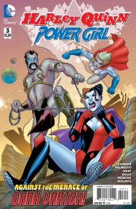 HARLEY QUINN & POWER GIRL #3