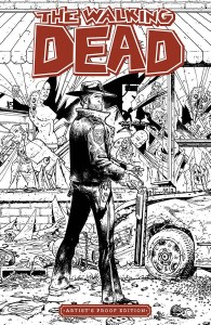 IMAGE GIANT SIZED ARTISTS PROOF ED WALKING DEAD #1