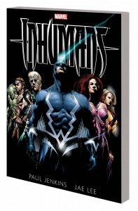 INHUMANS BY PAUL JENKINS AND JAE LEE TP