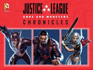 Justice League Gods and Monsters Chronicles poster image picture screensaver wallpaper
