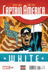 CAPTAIN AMERICA WHITE #1 (OF 5)