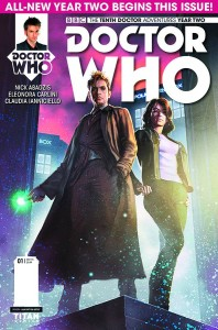 DOCTOR WHO THE TENTH DOCTOR YEAR TWO #1 #1 REG RONALD