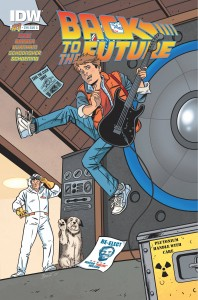 BACK TO THE FUTURE #1 (OF 5) SUB A CVR B
