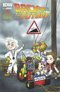 BACK TO THE FUTURE #1 (OF 5) SUB B CVR