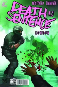 DEATH SENTENCE LONDON #5 #5 (MR)