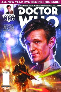 DOCTOR WHO -THE ELEVENTH DOCTOR - YEAR TWO #1