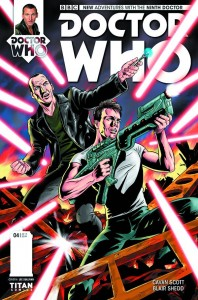 DOCTOR WHO THE NINTH DOCTOR #4 #4 (OF 5) REG SHEDD