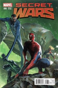 SECRET WARS #6 (OF 8) DELLOTTO RIBIC VAR