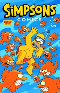 SIMPSONS COMICS #224 #224