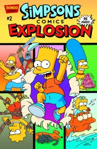 SIMPSONS COMICS EXPLOSION! #2 #2