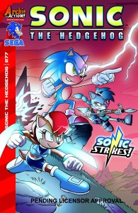 SONIC THE HEDGEHOG #277 #277 REG CVR