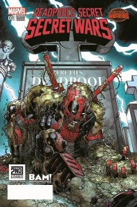 Secret wars Deadpool #1