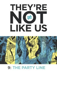 THEYRE NOT LIKE US #9 (MR)