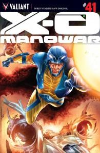 X-O MANOWAR #41 CVR A SANDOVAL