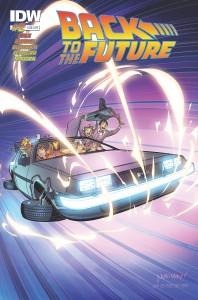 BACK TO THE FUTURE #2 (OF 5) DELOREAN SUB VAR