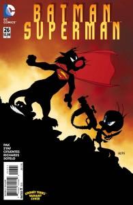 BATMAN SUPERMAN #26 LOONEY TUNES VAR ED