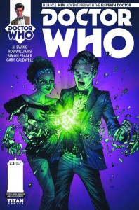 DOCTOR WHO THE ELEVENTH DOCTOR YEAR TWO #3 #3 REG CASSARA